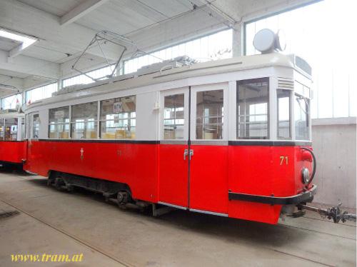 Triebwagen Type B  Nr. 71