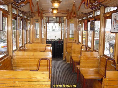 Triebwagen Type K Nr. 2319 Innenraum