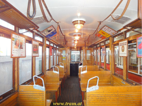 Triebwagen Type K Nr. 2423 Innenraum