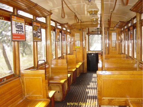Triebwagen Type L1 Nr. 2597 Innenraum
