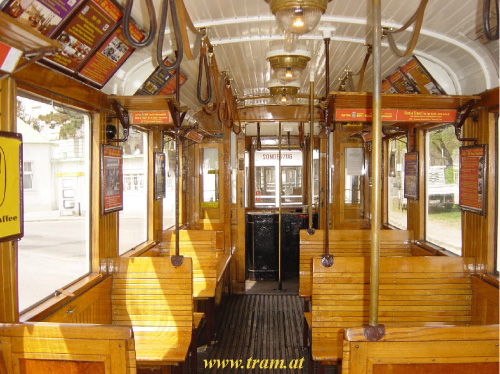 Motorcar type M No. 4013 interior