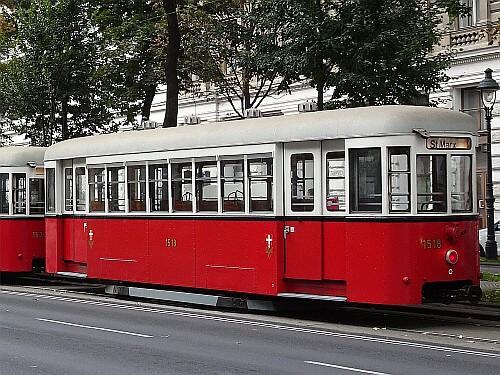 Beiwagen Type k6 Nr. 1518
