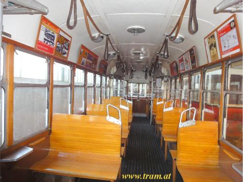 Beiwagen Type k6 Nr. 1518 Innenraum