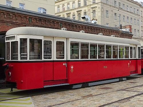 Beiwagen Type k6 Nr. 1530