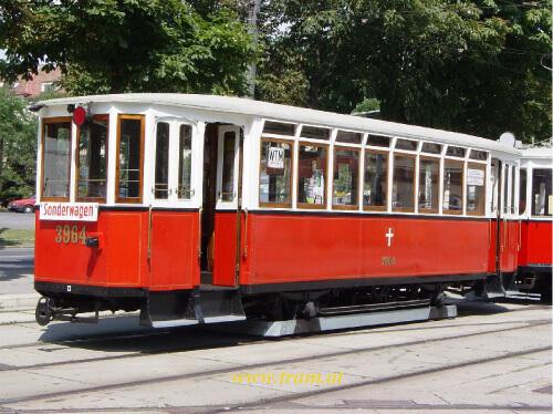 Beiwagen Type k5 Nr. 3964