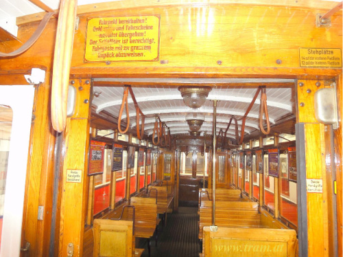 Beiwagen Type k5 Nr. 3964 Innenraum