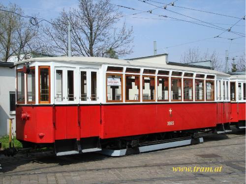 Beiwagen Type k5 Nr. 3965
