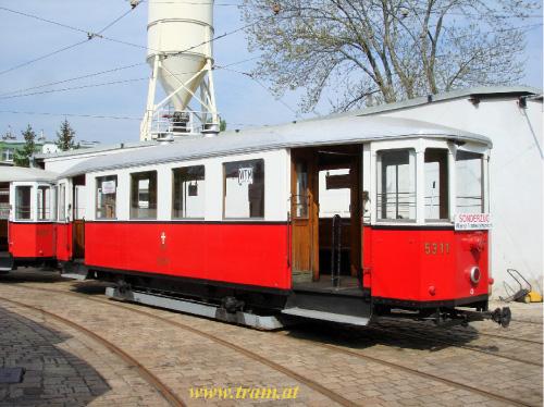 Beiwagen Type m3 Nr. 5311