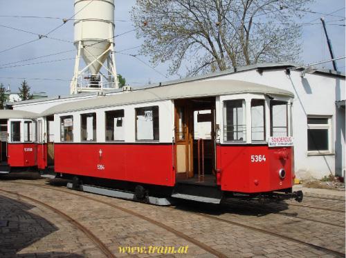 Beiwagen Type m3 Nr. 5364