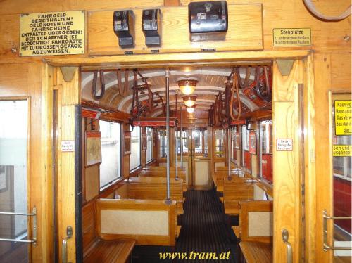 Beiwagen Type m3 Nr. 5364 Innenraum