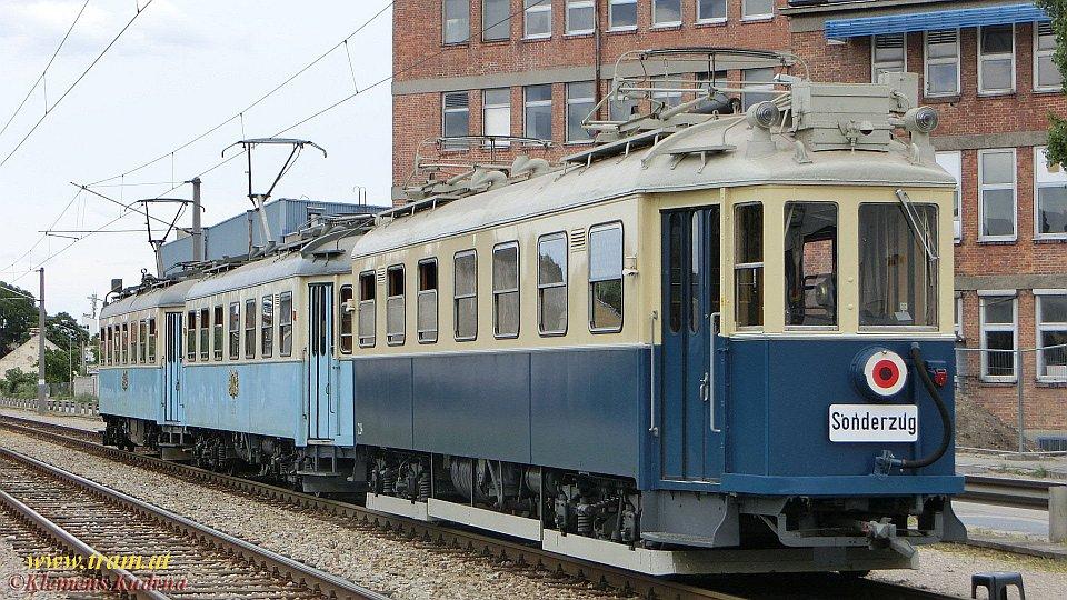 Festveranstaltung 50 Jahre WTM – Sonderzug Badner Bahn