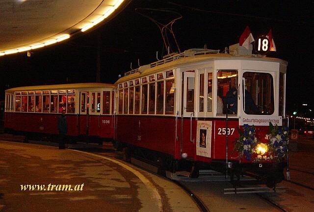 18. Geburtstag mit der Straßenbahn