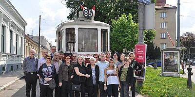 Geburtstag in der Straßenbahn