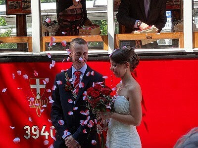Wedding at Karlsplatz