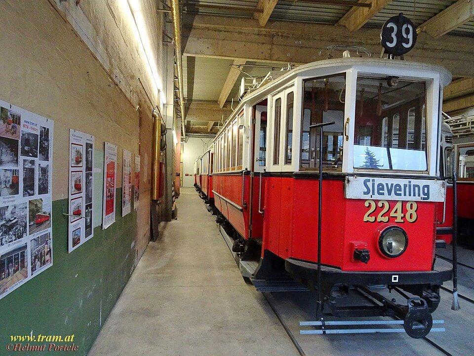 Museumsdepot Traiskirchen - Blick auf 2248