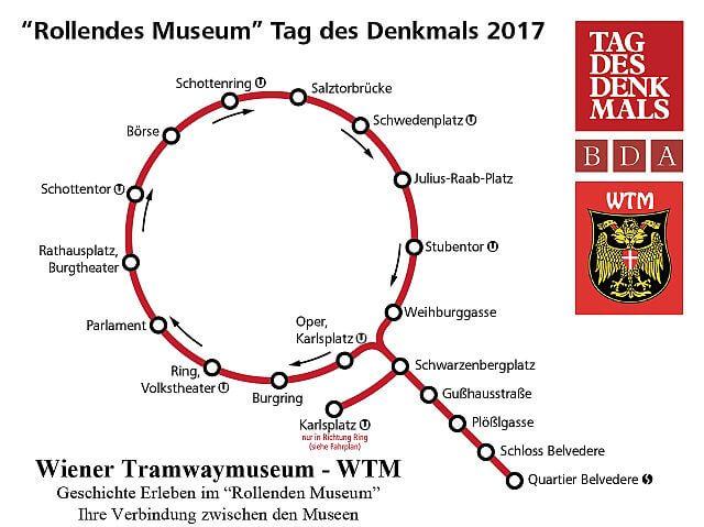 Route am Tag des Denkmals 2017