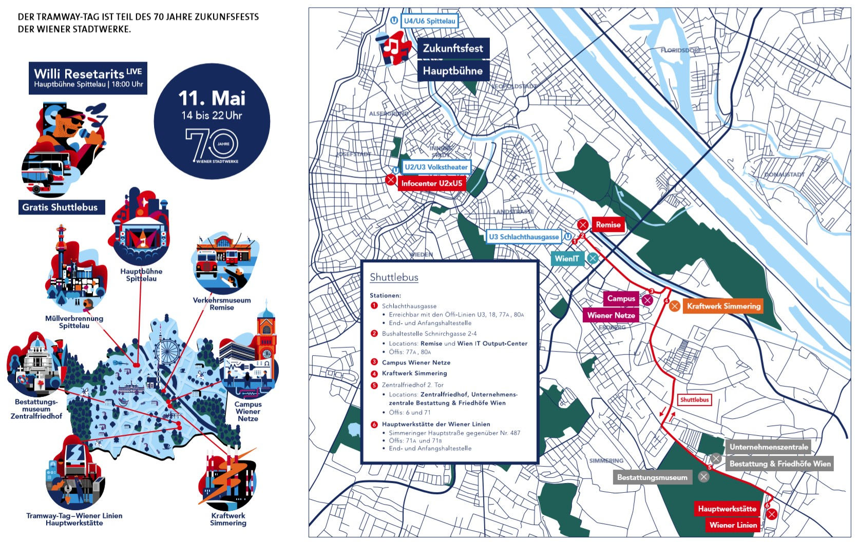 Tramwaytag 2019 Locations