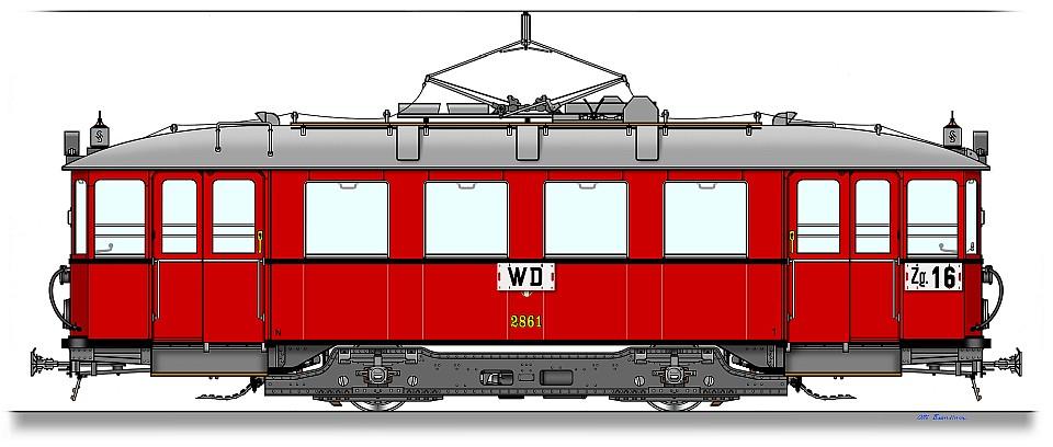 Wiener Stadtbahn Type N 2714