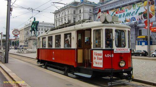 Wagen Nr. 4048 am Schwarzenbergplatz