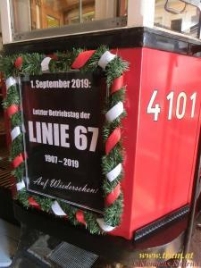 Abschied von der Linie 67