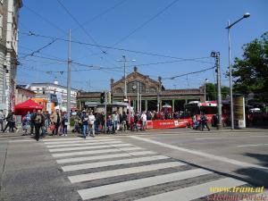 Bahnhof Gürtel am Tramwaytag 2017