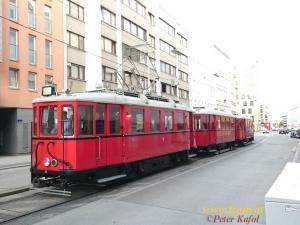 Der Stadtbahnwagen am Heimweg nach Erdberg.